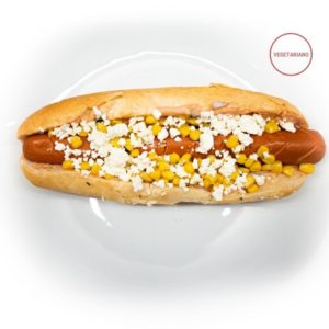 HOT DOG XL VEGETARIANO